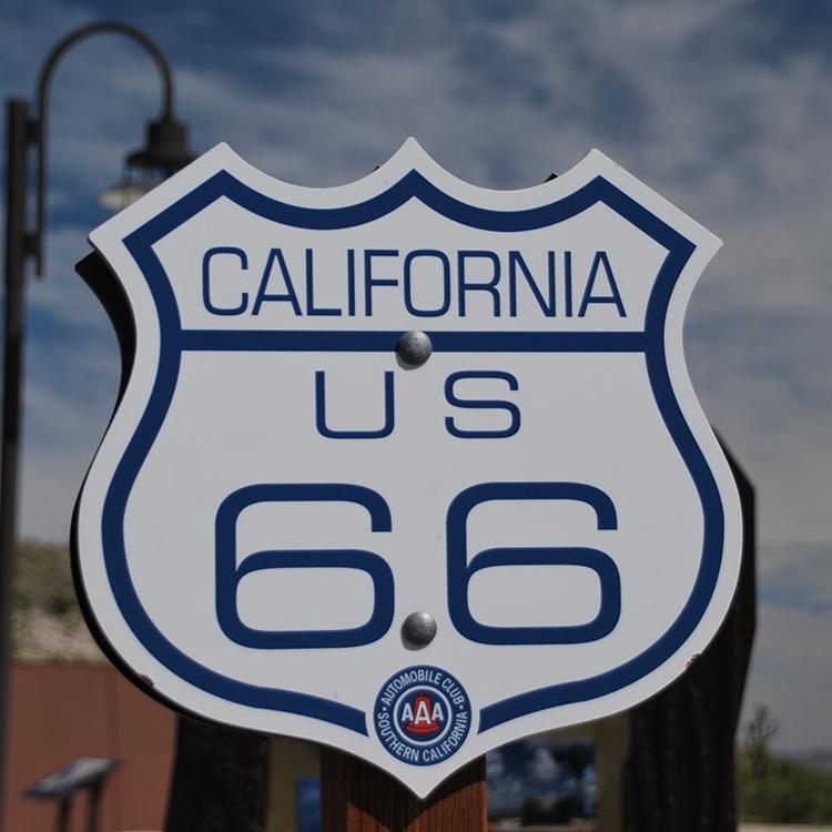 GO WEST California US 66