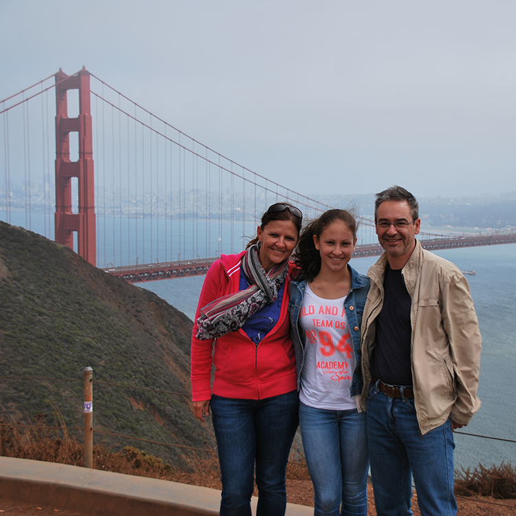 GO WEST San Francisco Familienfoto