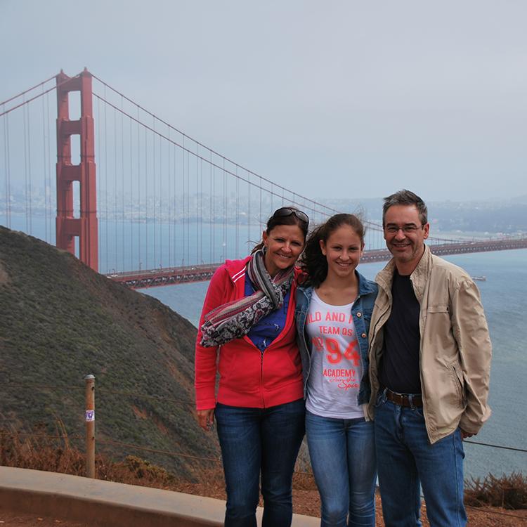 GO WEST San Francisco Familienfoto